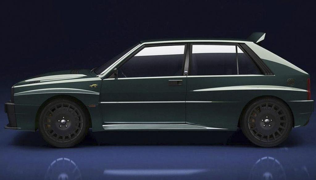 Lancia Delta 'Futurista': un successo annunciato. Tutti venduti i 20 modelli