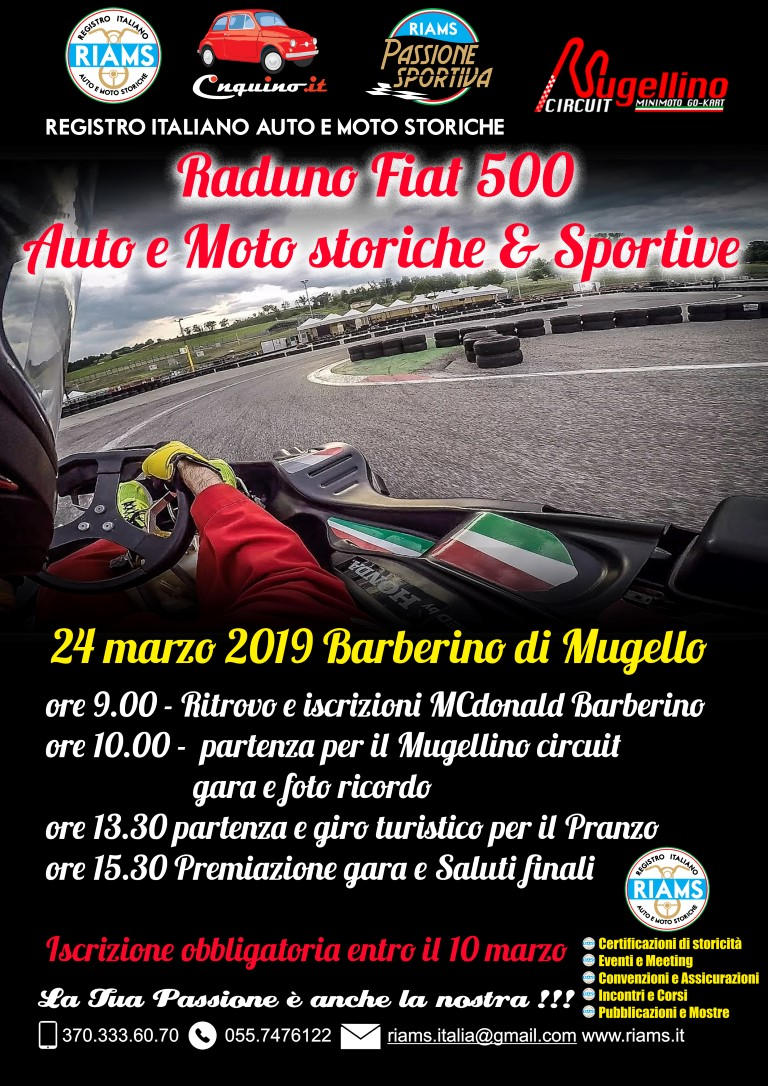 1° Raduno Riams Mugello