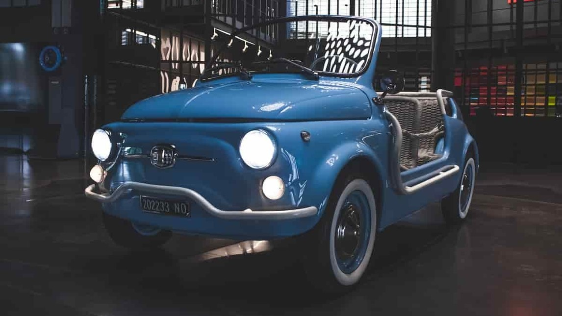 Garage Italia – Fiat 500  Jolly-E